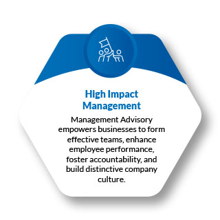 Leadership Advisory coaches clients to better manage their business and empower teams.