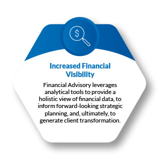 Financial Advisory is the natural continuation of client services after you (or the client) complete each bookkeeping cycle.